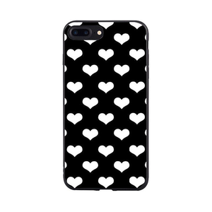 Heart Grid iPhone Case