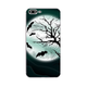Bats in Moon iPhone Case