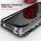 Magnetic Tempered iPhone Case