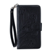 Mandala Leather Wallet HTC Phone Case