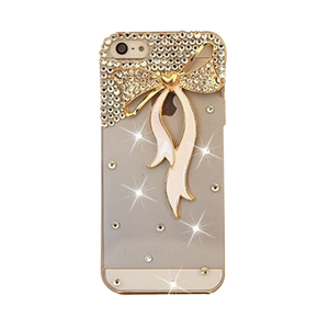 Rhinestone Bow-tie iPhone Case