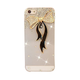 Black Bow-tie Rhinestone iPhone Case