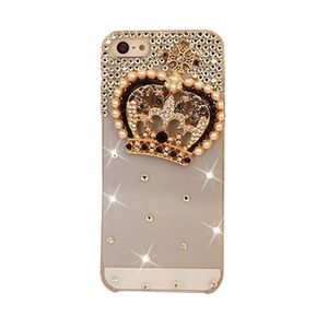 Rhinestone Crown iPhone Case