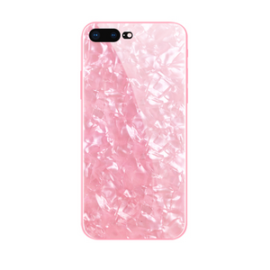 Glass Dream Shell Pink iPhone Case
