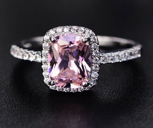 Ballerina Cushion Cut Ring