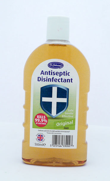 Dr Johnson's Antiseptic Disinfectant 500ml Original