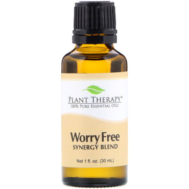 Plant Therapy 100% Pure Essential Oils Worry Free 1 fl oz (30 ml)