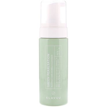 KLAVUU Green Pearlsation Blemish Care Bubble Cleanser 5.07 fl oz (150 ml)