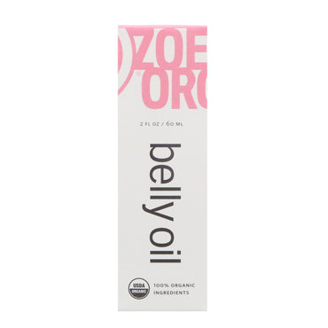 Zoe Organics Organic Belly Oil 2 fl oz (60 ml)