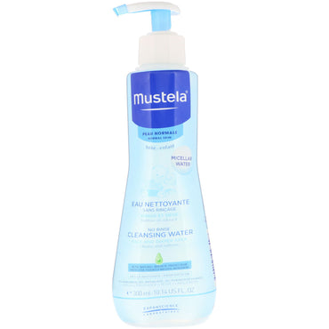 Mustela Baby No Rinse Cleansing Water For Normal Skin 10.14 fl oz (300 ml)