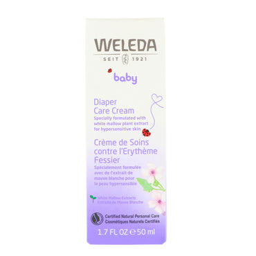 Weleda, Baby, Diaper Care Cream, 1.7 fl oz (50 ml)