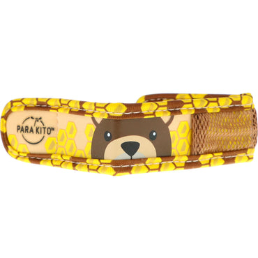 Para'kito, Mosquito Repellent Band + 2 Pellets, Kids, Brown Bear, 3 Piece Set