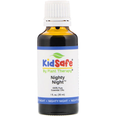 Plant Therapy, KidSafe, 100% Pure Essential Oils, Nighty Night, 1 fl oz (30 ml)