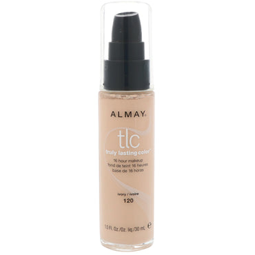 Almay, Truly Lasting Color Makeup, 120 Ivory, 1.0 fl oz (30 ml)