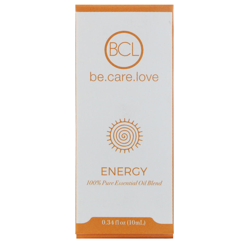 BLC Be Care Love 100% Pure Essential Oil Blend Energy 0.34 fl oz (10 ml)