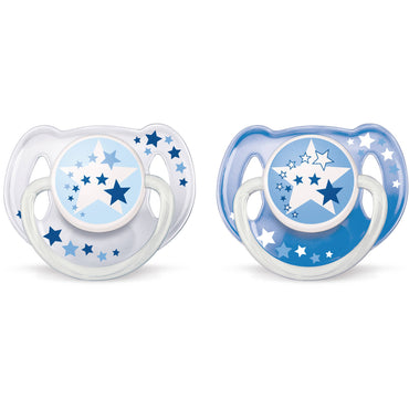 Philips Avent, Orthodontic Glow in the Dark Nighttime Pacifier, 6-18 Months, 2 Pack