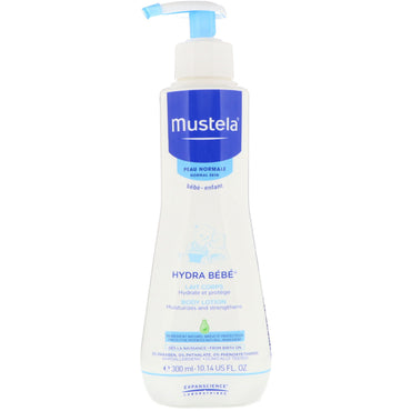 Mustela Baby Hydra Baby Body Lotion For Normal Skin 10.14 fl oz (300 ml)