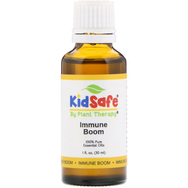 Plant Therapy, KidSafe, 100% Pure Essential Oils, Immune Boom, 1 fl oz (30 ml)