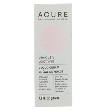 Acure, Seriously Soothing Cloud Cream, 1.7 fl oz (50 ml)