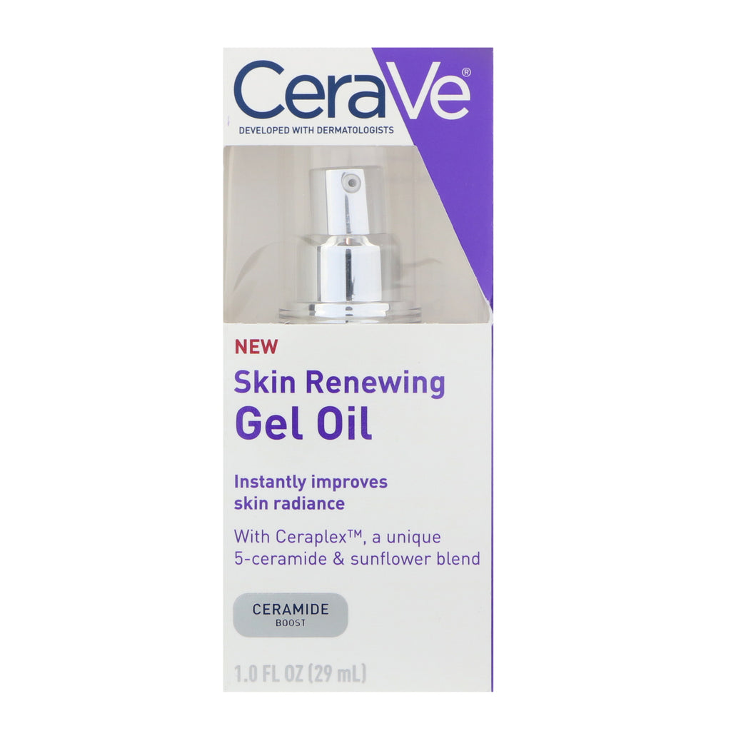 CeraVe, Skin Renewing Gel Oil, 1 fl oz (29 ml)