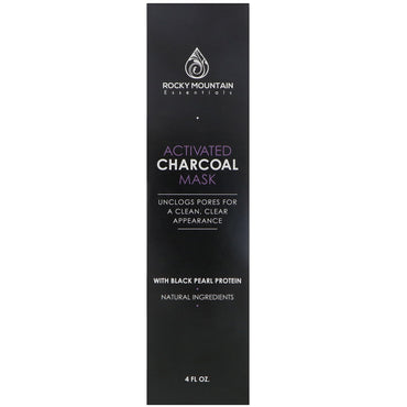 Gold Mountain Beauty, Activated Charcoal Mask, 4 fl oz