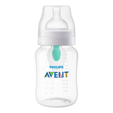 Philips Avent, Anti-Colic Bottle with AntiFree Vent, 1+ Months, 1 Bottle, 9 oz