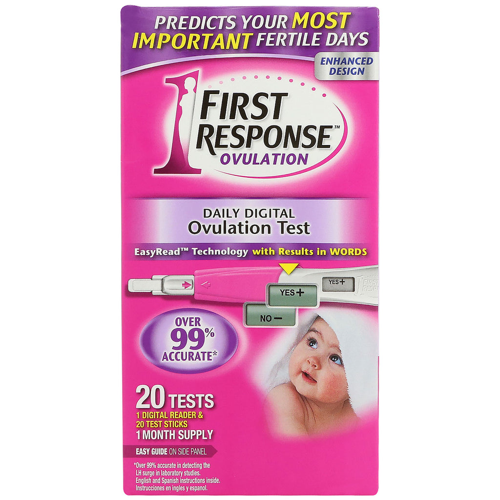 First Response, Daily Digital Ovulation, 20 Tests