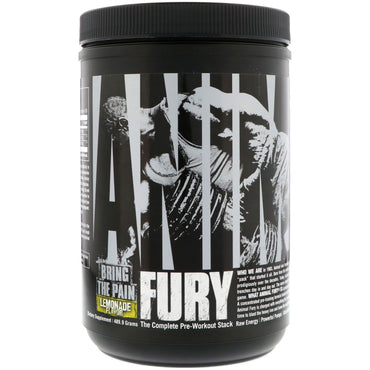 Universal Nutrition, Animal Fury, Lemonade, 489.9 g