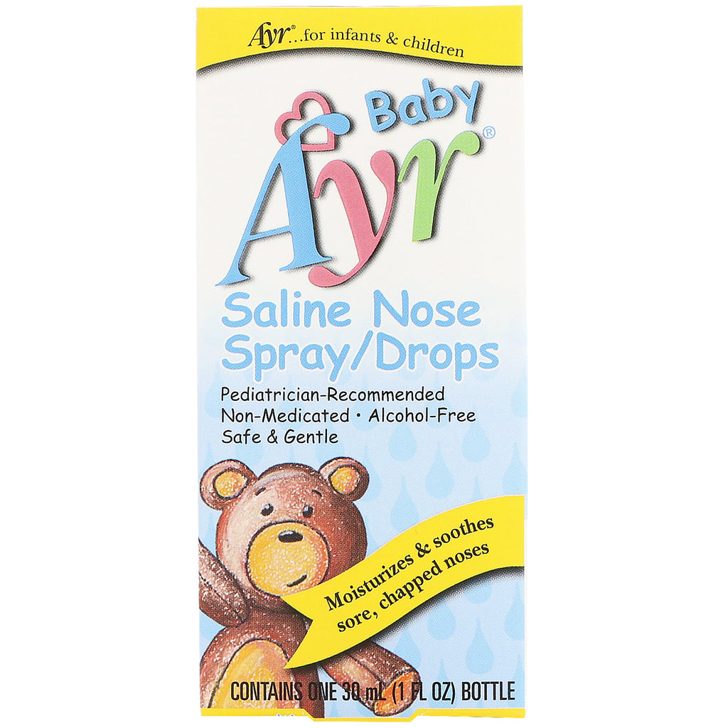 AYR Baby Saline Nose Spray/Drops 1 fl oz (30 ml)