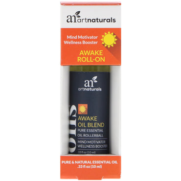 Artnaturals Awake Roll-On .33 fl oz (10 ml)