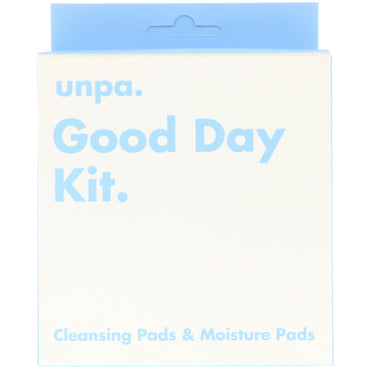 Unpa. Good Day Kit Cleansing Pads & Moisture Pads 6 Piece Kit