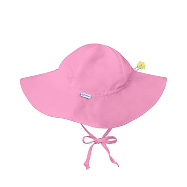 iPlay Inc., Sun Protection Hat, UPF 50+, 2-4 Years, Light Pink, 1 Hat