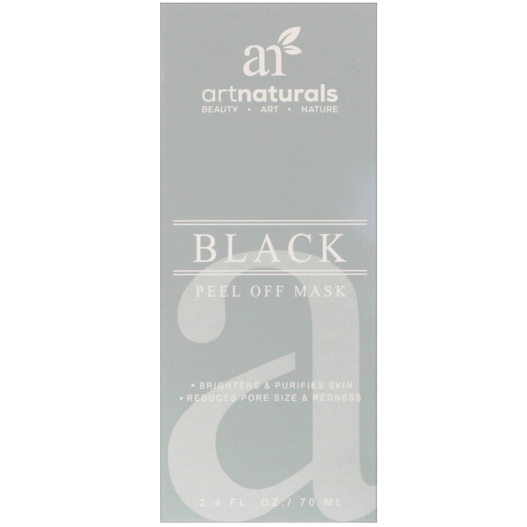 Artnaturals, Black Peel Off Mask, 2.4 fl oz (70 ml)