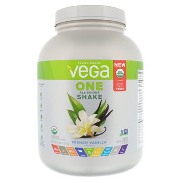 Vega, One, All-In-One Shake, French Vanilla, 3 lbs (1.6 kg)