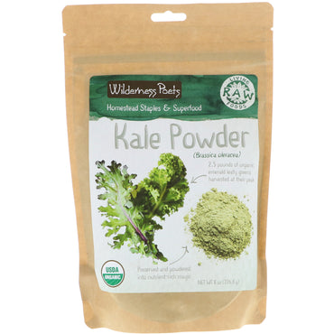 Wilderness Poets, Kale Powder, 8 oz (226.8 g)