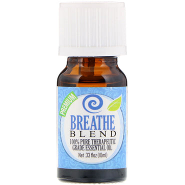 Healing Solutions 100% Pure Therapeutic Grade Essential Oil Breathe Blend 0.33 fl oz (10 ml)
