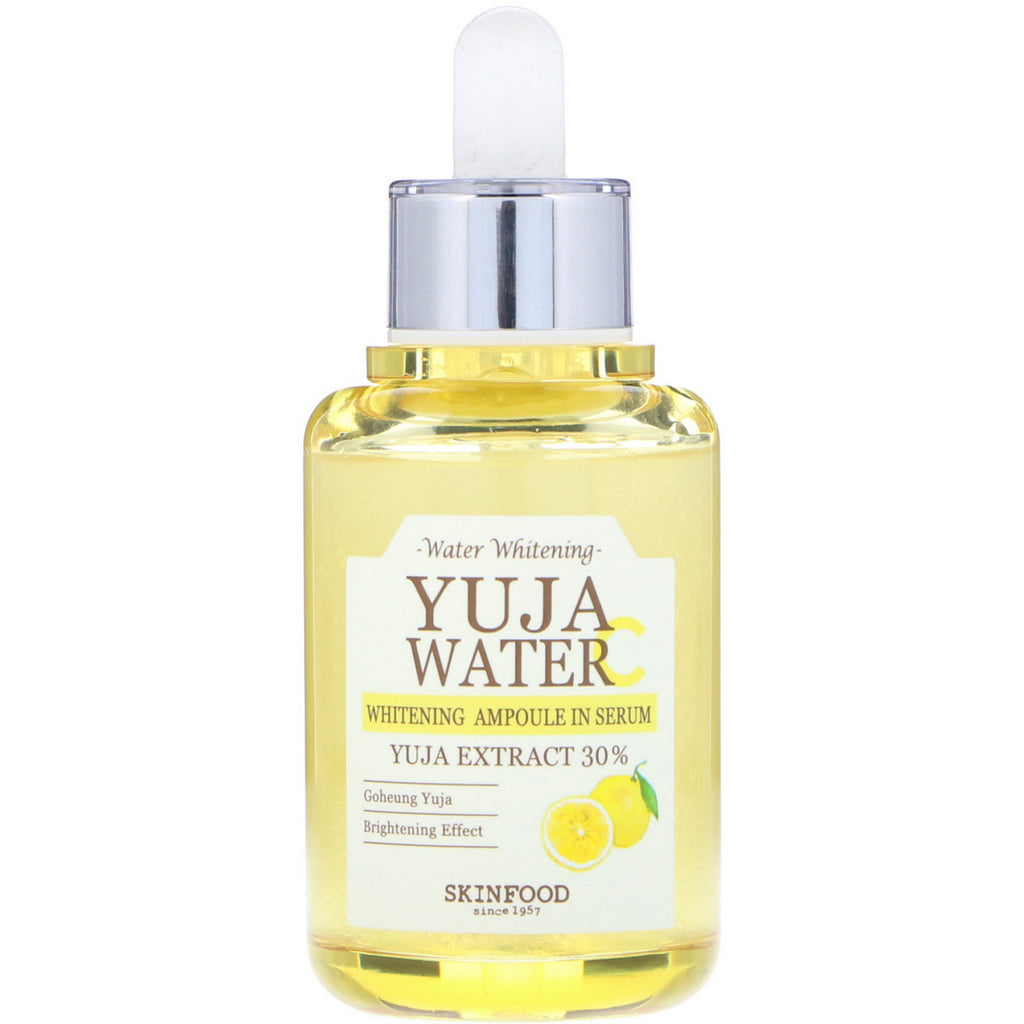 Skinfood, Yuja Water, Whitening Ampoule Serum, 1.48 fl oz (44 ml)