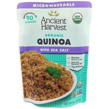 Ancient Harvest, Organic, Quinoa with Sea Salt, 8 oz (227 g)