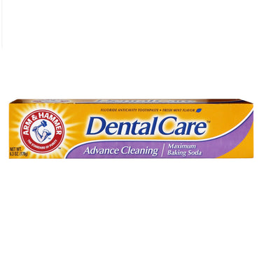 Arm & Hammer, Dental Care, Maximum Baking Soda Toothpaste, Advance Cleaning, Fresh Mint, 6.3 oz (178 g)