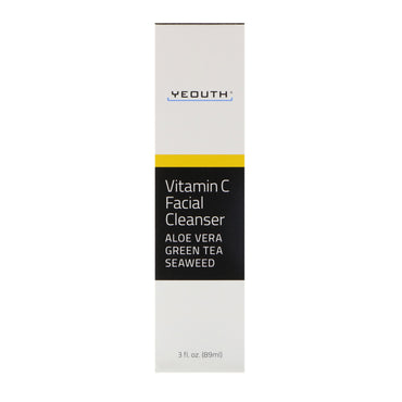 Yeouth, Vitamin C Facial Cleanser, 3 fl oz (89 ml)