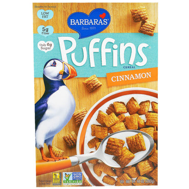 Barbara's Bakery Puffins Cereal Cinnamon 10 oz (283 g)