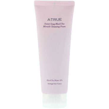 ATrue Sweet Song Black Tea Miracle Cleansing Foam 150 g