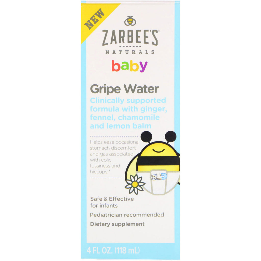 Zarbee's, Baby, Gripe Water, 4 fl oz (118 ml)