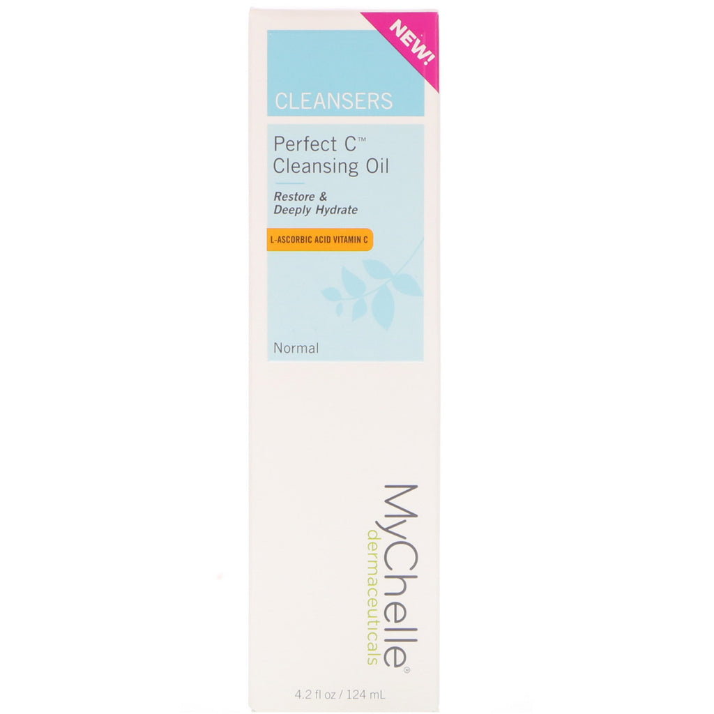 MyChelle Dermaceuticals, Perfect C Cleansing Oil, Normal, 4.2 fl oz (124 ml)