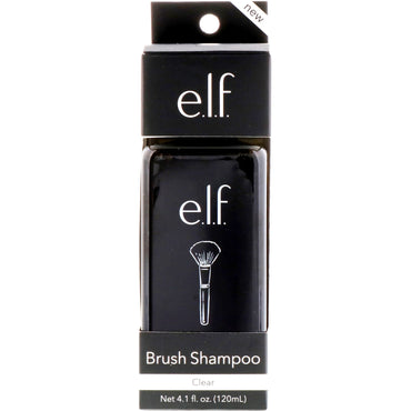 E.L.F. Cosmetics, Brush Shampoo, Clear, 4.1 fl oz (120 ml)