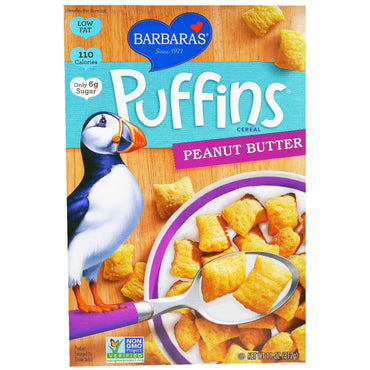 Barbara's Bakery Puffins Cereal Peanut Butter 11 oz (312 g)