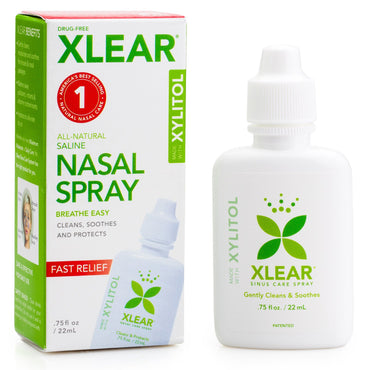 Xlear Xylitol Saline Nasal Spray .75 fl oz (22 ml)