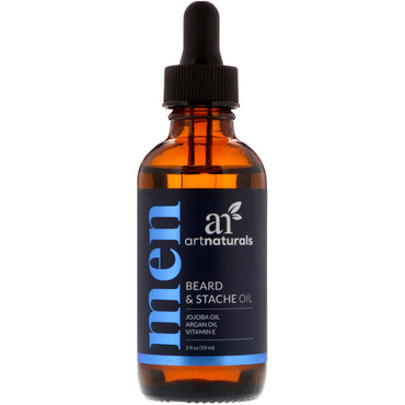 Artnaturals, Beard & Stache Oil, 2 fl oz (59 ml)