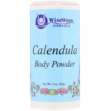 WiseWays Herbals, LLC, Calendula Body Powder, 3 oz (85 g)