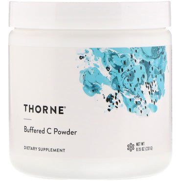 Thorne Research, Buffered C Powder, 8.15 oz (231 g)